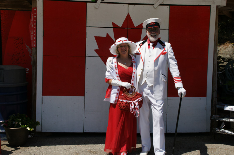 Captain and Mrs Canada